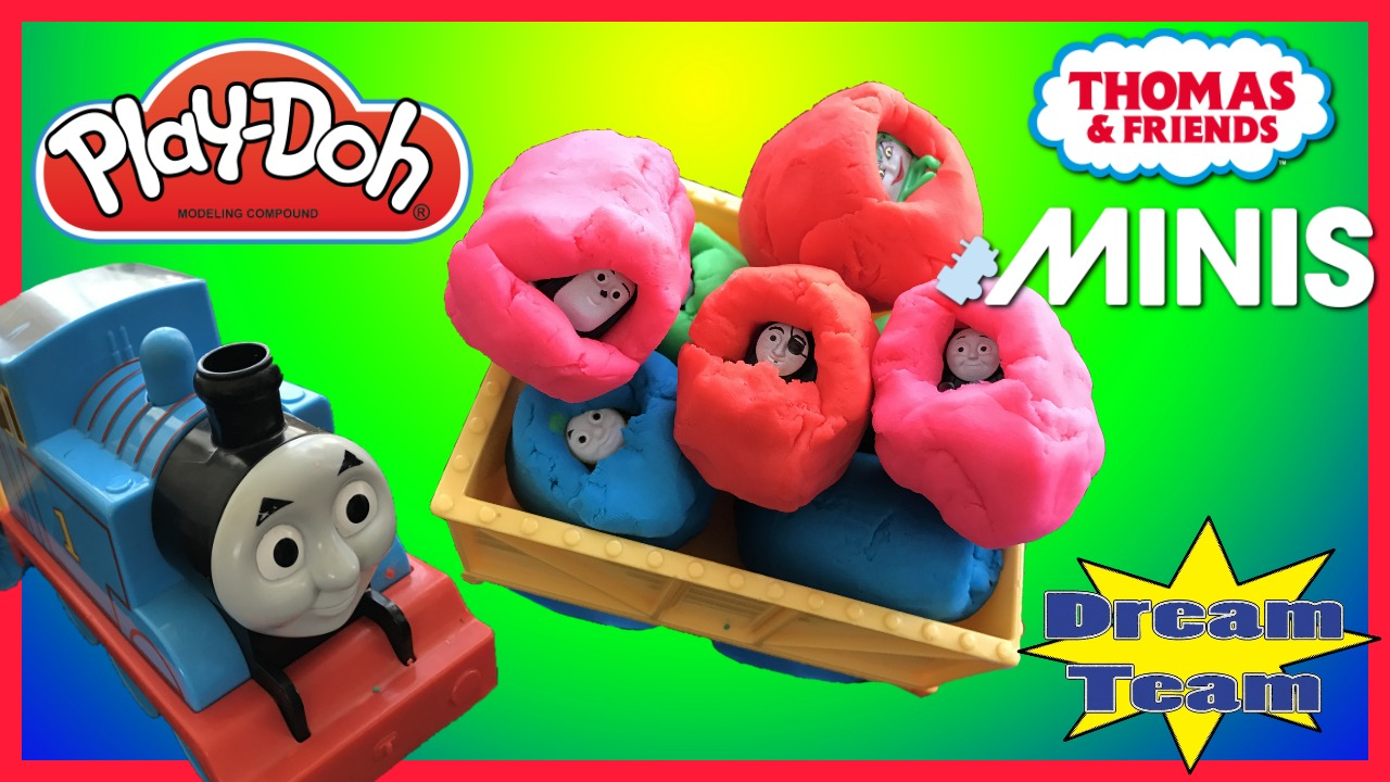 PLAY DOH THOMAS & FRIENDS GUESSING GAME! Guess The Engine