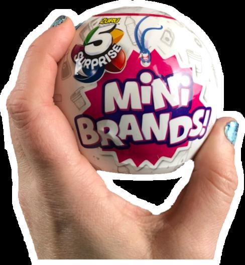 Zuru 5 Surprise Mini Brands Mini Pretend Play Foods Dream Team